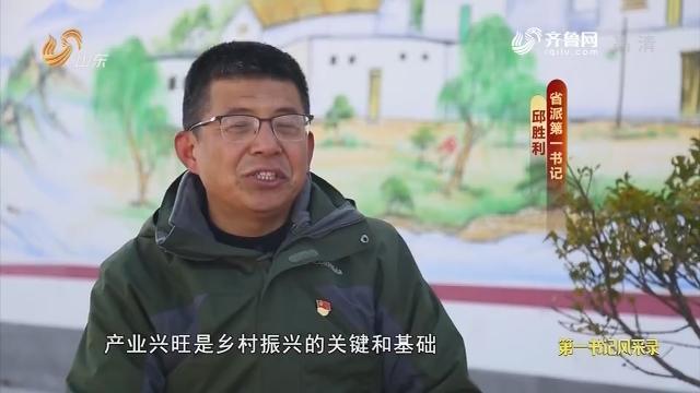 20181222《齐鲁先锋》:在习近平新时代中国特色社会主义思想指引下·第一书记风采录 邱胜利——办好群众身边事