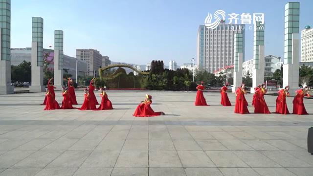 《全能挑战王》威海海梦舞蹈队表演《丝路红》