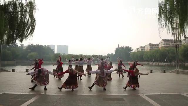 《全能挑战王》泰安泰山舞团表演《再唱山歌给党听》