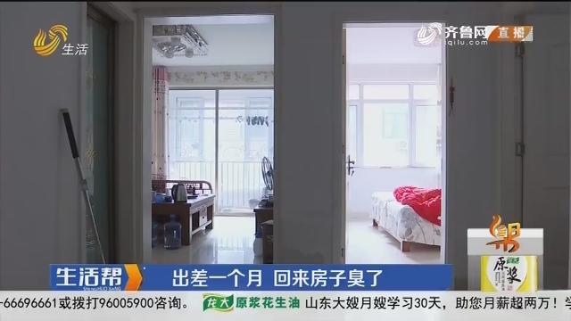 潍坊:出差一个月 回来房子臭了