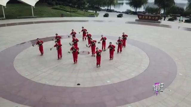 《全能挑战王》枣庄薛城舞动人生舞蹈队表演《火红的秧歌扭起来》