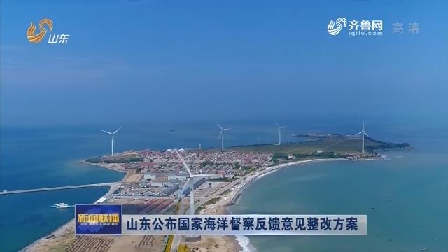 山东公布国家海洋督察反馈意见整改方案