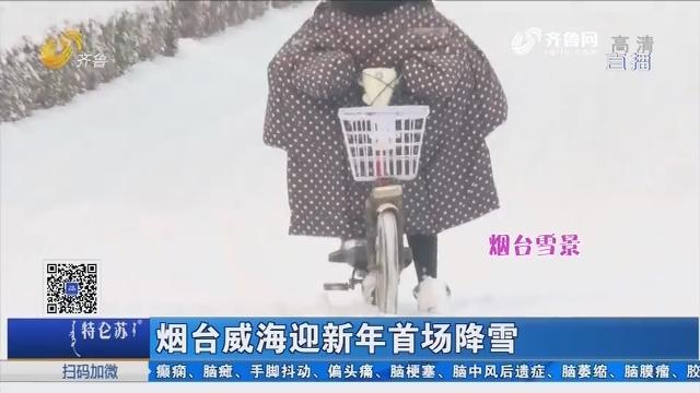 烟台威海迎新年首场降雪