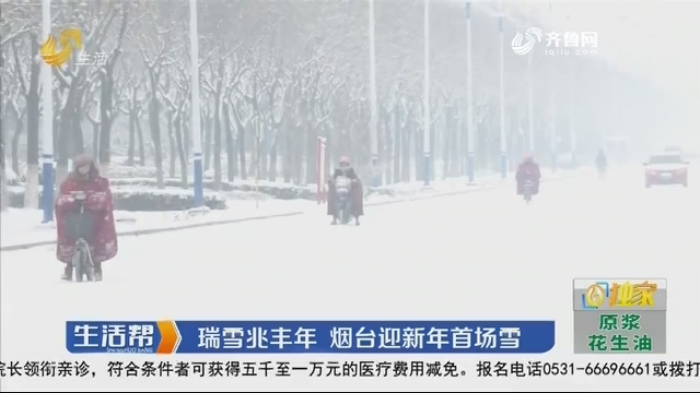 瑞雪兆丰年 烟台迎新年首场雪