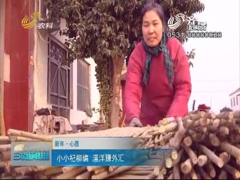 【新年·心愿】小小杞柳编 漂洋赚外汇