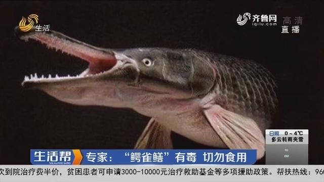 """惊!淄博水域钓出""""水中杀手"""""""