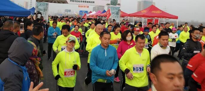 勇者挑战赛:2019江北水城冬季半程马拉松