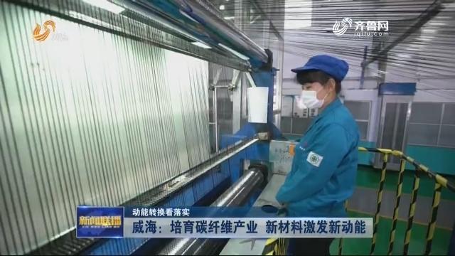 【动能转换看落实】威海:培育碳纤维产业 新材料激发新动能