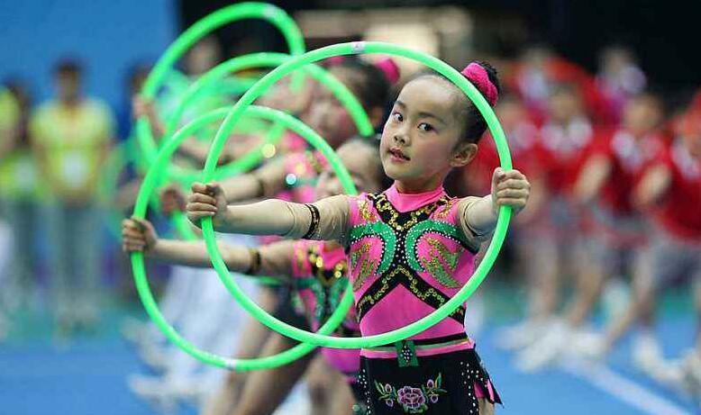 体操:承载孩子梦想走向世界舞台