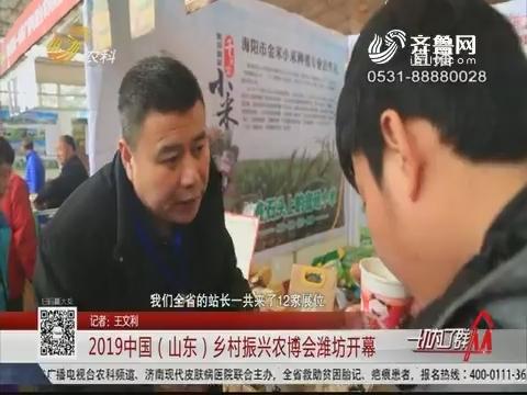 2019中国(山东)乡村振兴农博会潍坊开幕