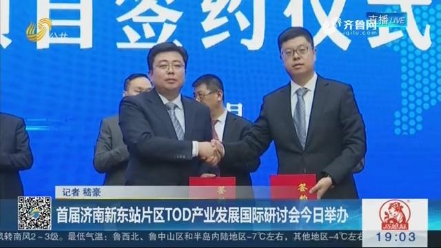 首届济南新东站片区TOD产业发展国际研讨会1月12日举办