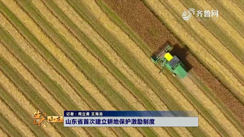 山东省首次建立耕地保护激励制度