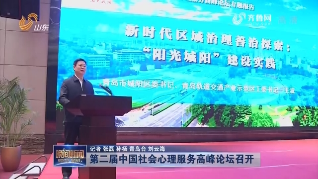 第二届中国社会心理服务高峰论坛召开