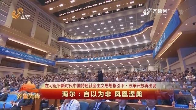 20190122《齐鲁先锋》:在习近平新时代中国特色社会主义思想指引下·改革开放再出发 海尔——自以为非 凤凰涅槃