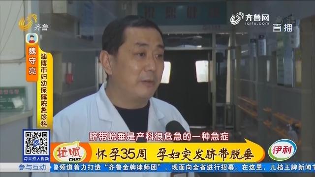 淄博:怀孕35周 孕妇突发脐带脱垂