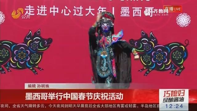 墨西哥举行中国春节庆祝活动