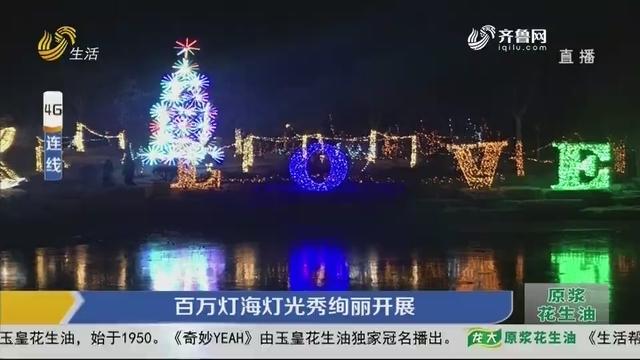【4G连线】滨州:百万灯海灯光秀绚丽开展