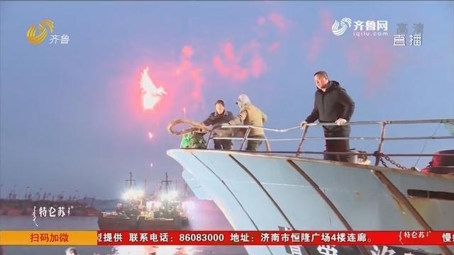 荣成:渔民新春扬帆出海