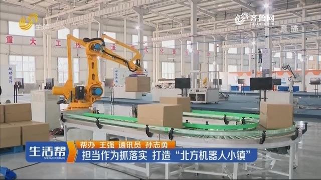 """潍坊:担当作为抓落实 打造""""北方机器人小镇"""""""
