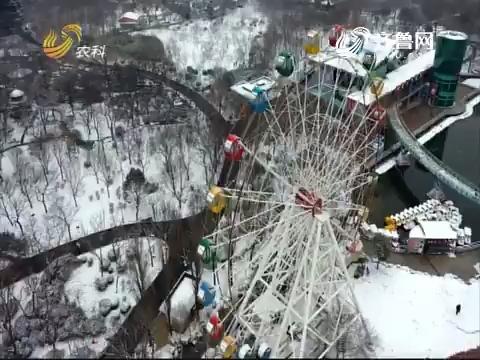 济南的美丽雪景