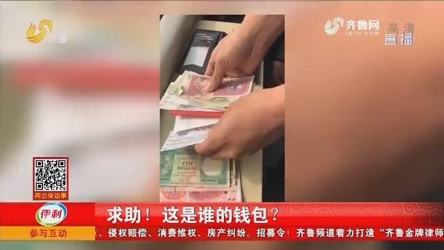 济南:求助!这是谁的钱包?