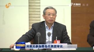 刘家义参加青岛代表团审议