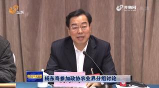 杨东奇参加政协农业界分组讨论