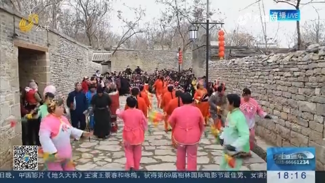 【欢庆元宵节】潍坊杨家埠:文化灯会唱主角
