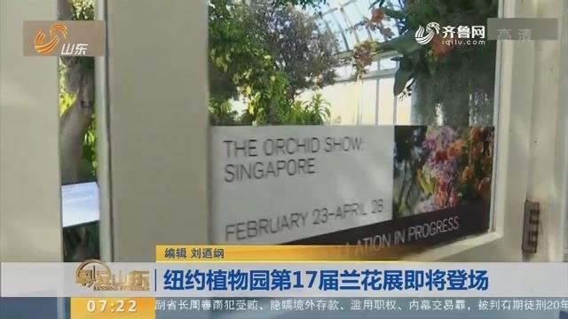 纽约植物园第17届兰花展即将登场