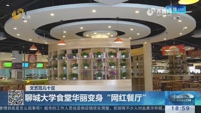 """文艺范儿十足:聊城大学食堂华丽变身""""网红餐厅"""""""
