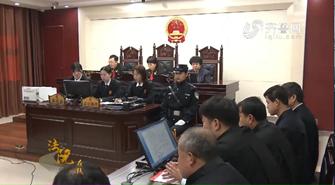 《法院在线》03-02《武城法院公开宣判首例涉恶案件 10人被判刑》