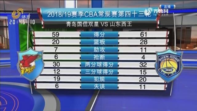 青岛国信双星VS山东西王(中)