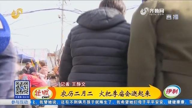 惠民:农历二月二 火把李庙会逛起来
