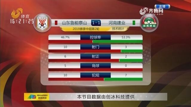 山东鲁能VS河南建业(中)
