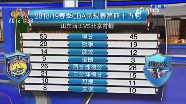 山东西王VS北京首钢(中)