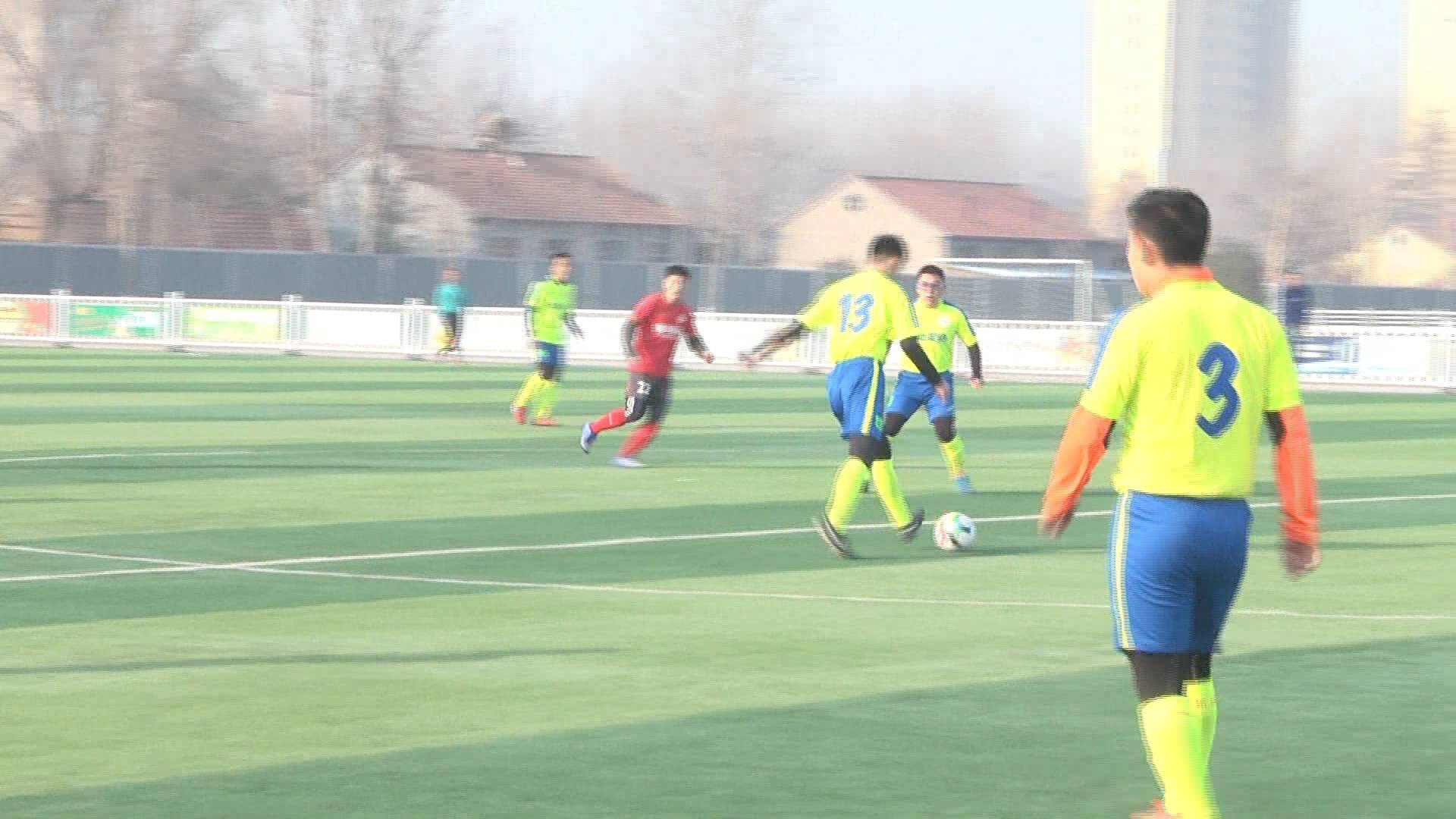 昌乐第二届足球邀请赛开赛