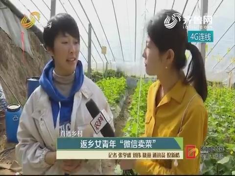 """【直播乡村】返乡女青年 """"微信卖菜"""""""