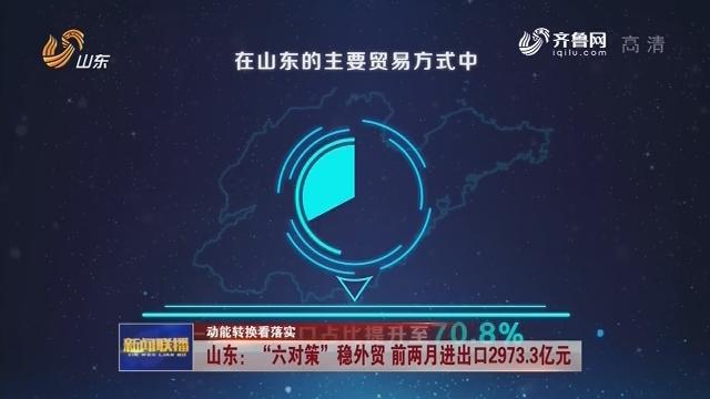 """【动能转换看落实】山东:""""六对策""""稳外贸 前两月进出口2973.3亿元"""