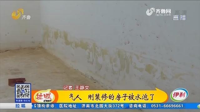 济南:气人 刚装修的房子被水泡了