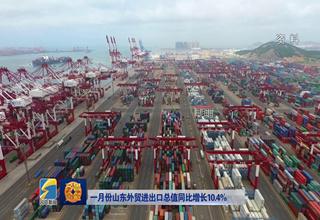 【齐鲁金融】一月份山东外贸进出口总值同比增长10.4%《齐鲁金融》20190313播出