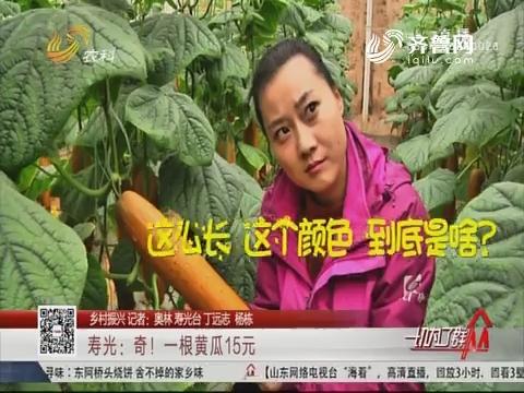 【乡村振兴】寿光:奇!一根黄瓜15元
