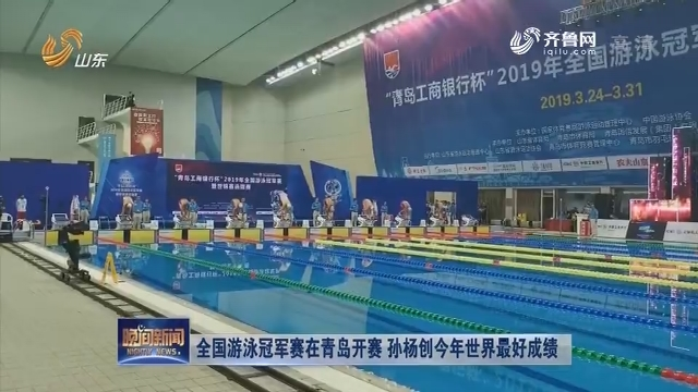 天下游泳冠军赛在青岛开赛 孙杨创本年天下最好结果