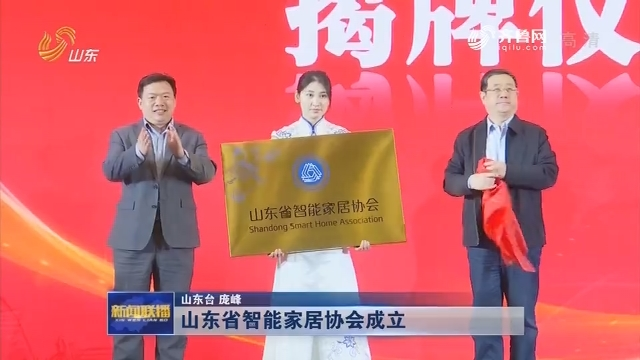 山东省智能家居协会成立