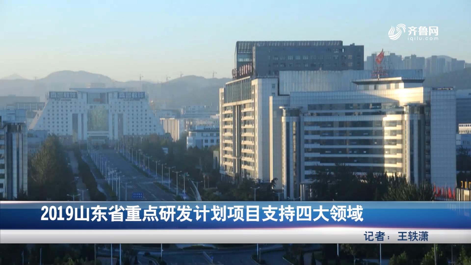 2019山东省重点研发计划项目支持四大领域