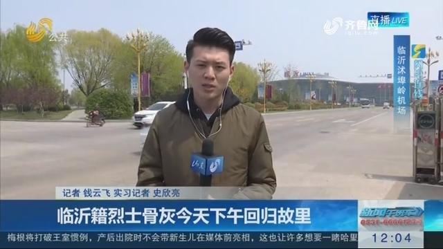 【英雄回家】闪电连线:临沂籍烈士骨灰4月5日下午回归故里