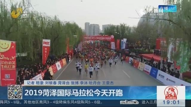 2019菏泽国际马拉松4月7日开跑