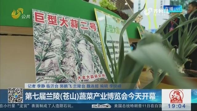 第七届兰陵(苍山)蔬菜产业博览会4月12日开幕