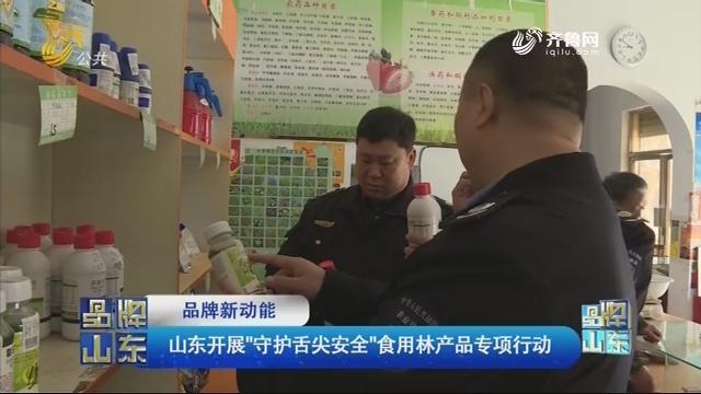 """【品牌新动能】山东开展""""守护舌尖安全""""食用林产品专项行动"""