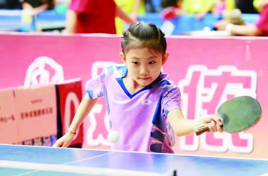希杰杯全国少年乒乓球大奖赛聊城开战