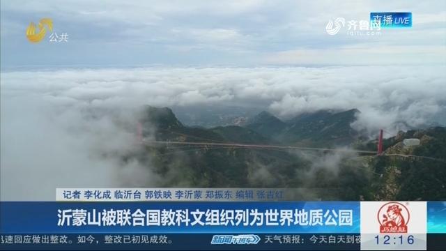 沂蒙山被联合国教科文组织列为世界地质公园